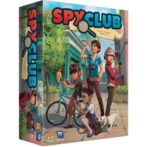Spy Club Board Game - Macronova Games