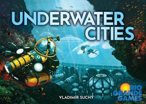 Underwater Cities Board Game - Macronova Games