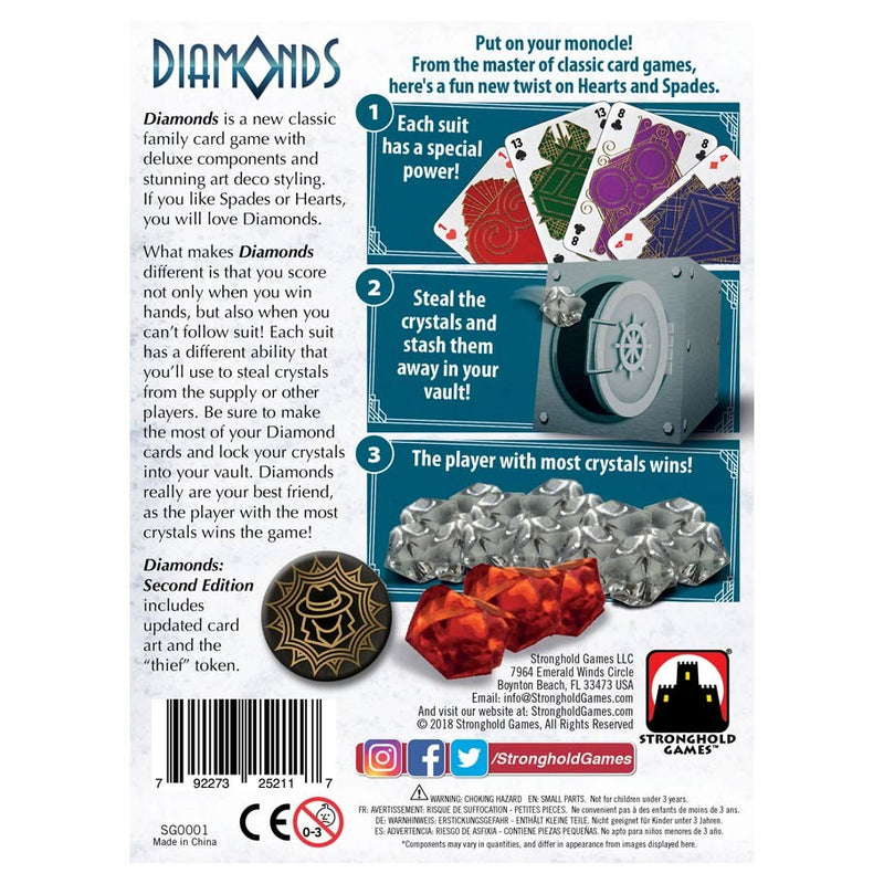 Diamonds 2nd Edition Board Game - Macronova Games