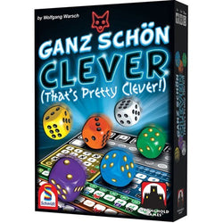Ganz Schön Clever (That's Pretty Clever) Board Game - Macronova Games