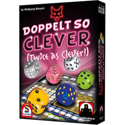 Twice as Clever (Doppelt So Clever) Board Game - Macronova Games