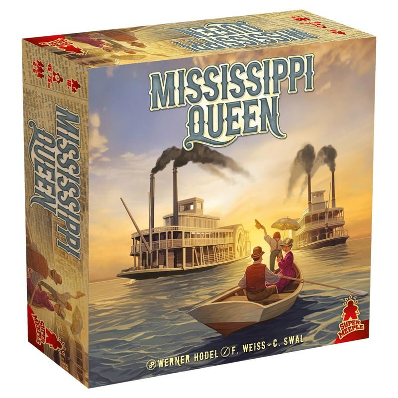 Mississippi Queen Board Game - Macronova Games