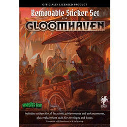 Gloomhaven Removable Sticker Set - Macronova Games
