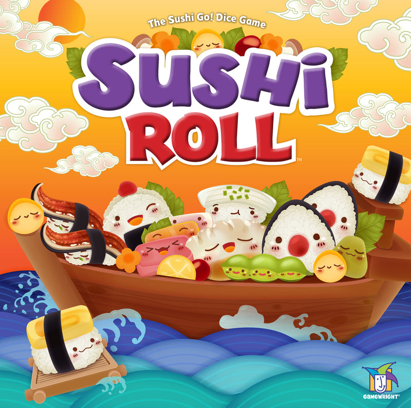 Sushi Roll Board Game - Macronova Games