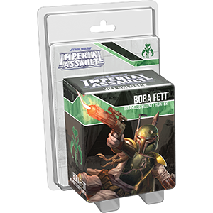Star Wars: Imperial Assault - Boba Fett Villain Pack Board Game - Macronova Games