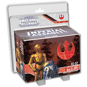Star Wars: Imperial Assault - R2-D2 and C-3PO Ally Pack Board Game - Macronova Games