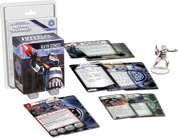 Star Wars: Imperial Assault - Kayn Somos Villain Pack