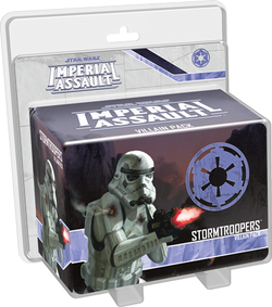 Star Wars Imperial Assault: Stormtroopers Villain Pack Board Game - Macronova Games