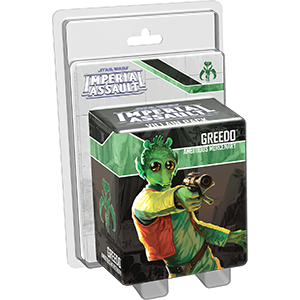 Star Wars: Imperial Assault - Greedo Villain Pack Board Game - Macronova Games