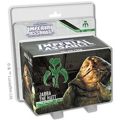 Star Wars: Imperial Assault - Jabba the Hutt Villain Pack Board Game - Macronova Games