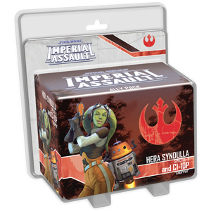 Star Wars: Imperial Assault - Hera Syndulla and C1-10P Ally Pack Board Game - Macronova Games