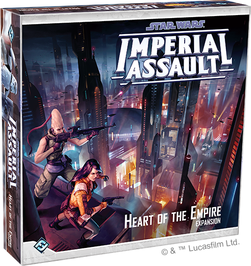 Star Wars Imperial Assault - Heart of the Empire Campaign Expansion Board Game - Macronova Games