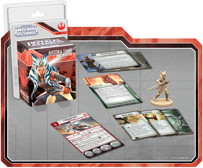 Star Wars Imperial Assault - Ahsoka Tano Ally Pack Board Game - Macronova Games