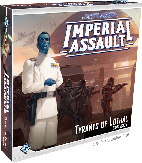 Star Wars: Imperial Assault - Tyrants of Lothal Board Game - Macronova Games