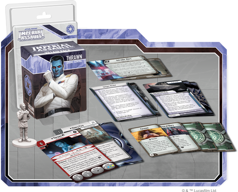 Star Wars: Imperial Assault - Thrawn Villain Pack - Macronova Games