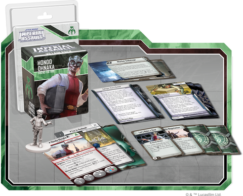 Star Wars: Imperial Assault - Hondo Ohnaka Villain Pack Board Game - Macronova Games