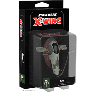 Star Wars X-Wing: 2nd Edition - Slave 1 Expansion Pack Board Game - Macronova Games