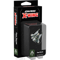 Star Wars X-Wing: 2nd Edition - Fang Fighter Expansion Pack Board Game - Macronova Games