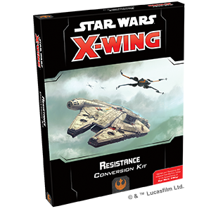 Star Wars X-Wing: 2nd Edition - Resistance Conversion Kit Board Game - Macronova Games