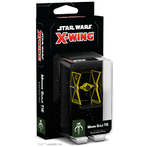 Star Wars X-Wing: 2nd Edition - Mining Guild TIE Expansion Pack Board Game - Macronova Games