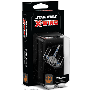 Star Wars X-Wing: 2nd Edition - T-70 X-Wing Expansion Pack Board Game - Macronova Games