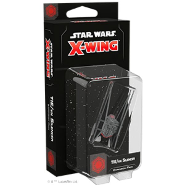 Star Wars X-Wing: 2nd Edition - TIE/vn Silencer Expansion Pack Board Game - Macronova Games
