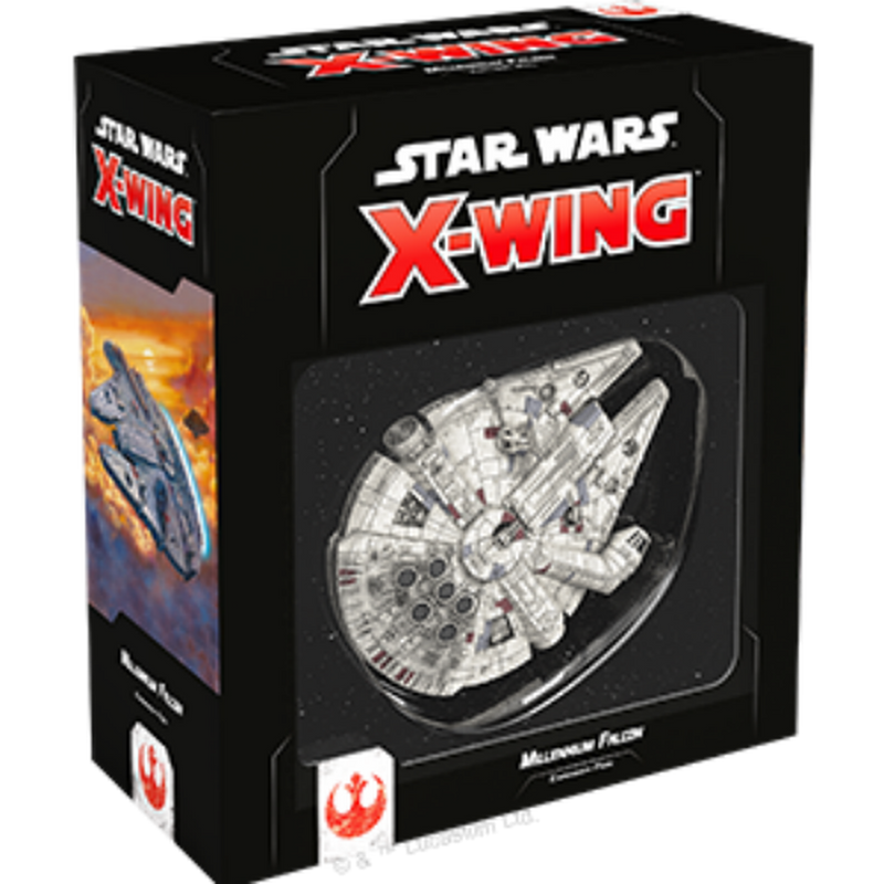 Star Wars X-Wing: 2nd Edition - Millennium Falcon Expansion Pack Board Game - Macronova Games