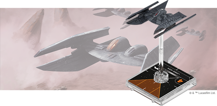 Star Wars X-Wing: 2nd Edition - Hyena-class Droid Bomber Expansion Pack Board Game - Macronova Games