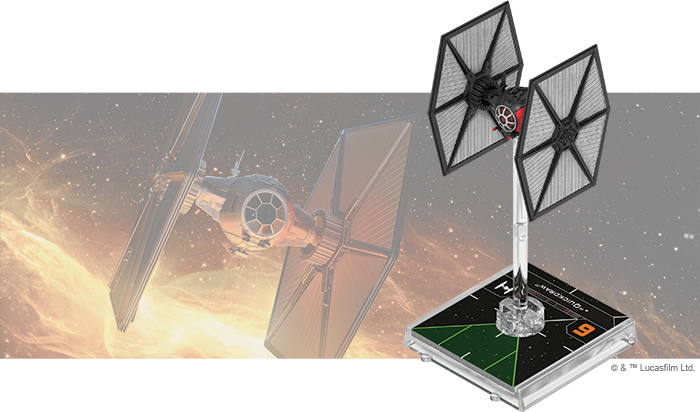 Star Wars X-Wing: 2nd Edition - TIE/sf Fighter Expansion Pack Board Game - Macronova Games