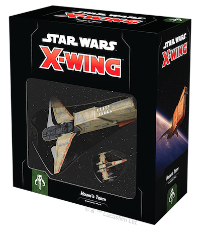 Star Wars X-Wing: 2nd Edition - Hound's Tooth Expansion Pack Board Game - Macronova Games