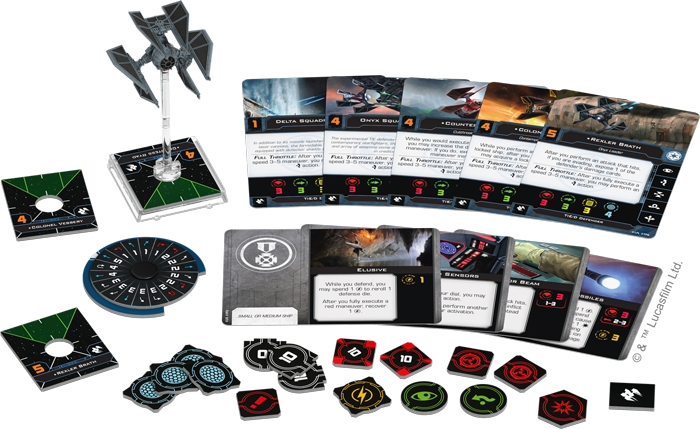 Star Wars X-Wing: 2nd Edition - TIE/D Defender Expansion Pack Board Game - Macronova Games