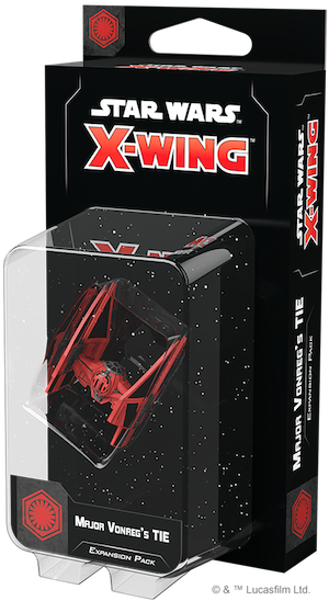 Star Wars X-Wing: 2nd Edition - Major Vonreg's TIE Expansion Pack Board Game - Macronova Games