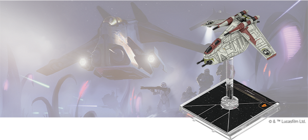 Star Wars X-Wing: 2nd Edition - LAAT/i Gunship Expansion Pack Board Game - Macronova Games