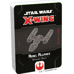 Star Wars X-Wing: 2nd Edition - Rebel Alliance Damage Deck Accessory - Macronova Games