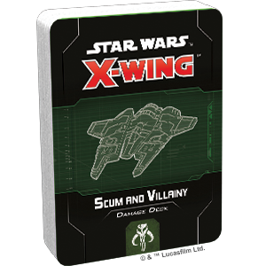 Star Wars X-Wing: 2nd Edition - Scum and Villainy Damage Deck Accessory - Macronova Games
