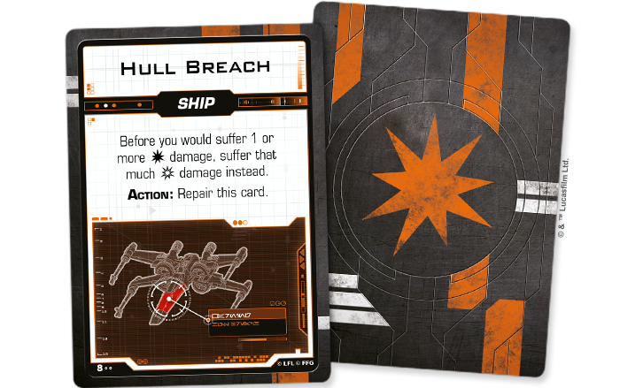 Star Wars X-Wing: 2nd Edition - Resistance Damage Deck Accessory - Macronova Games