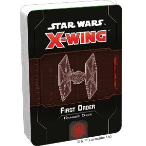 Star Wars X-Wing: 2nd Edition - First Order Damage Deck Accessory - Macronova Games
