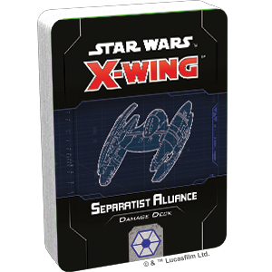 Star Wars X-Wing: 2nd Edition - Separatist Alliance Damage Deck Accessory - Macronova Games