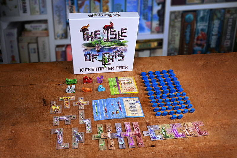 The Isle of Cats Board Game - Macronova Games