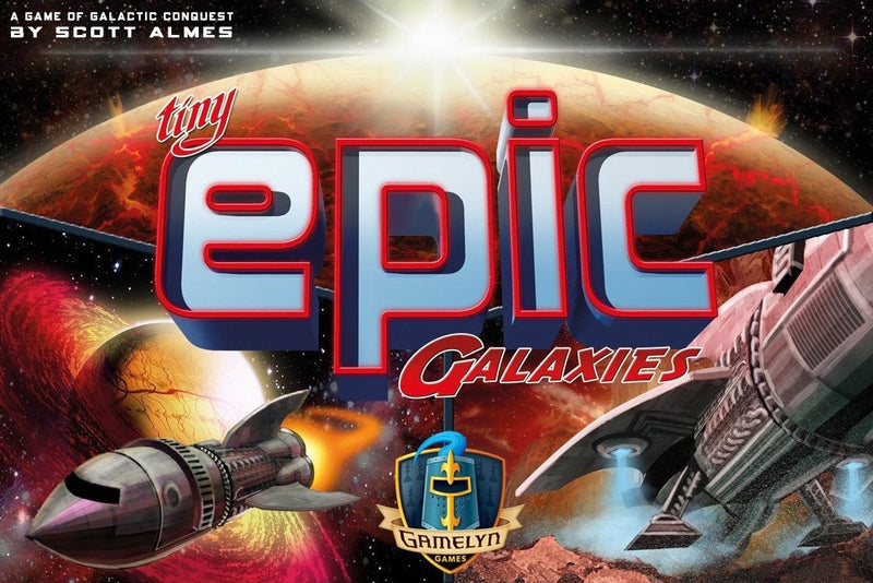 Tiny Epic Galaxies Board Game - Macronova Games