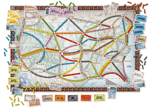 Ticket to Ride Board Game - Macronova Games