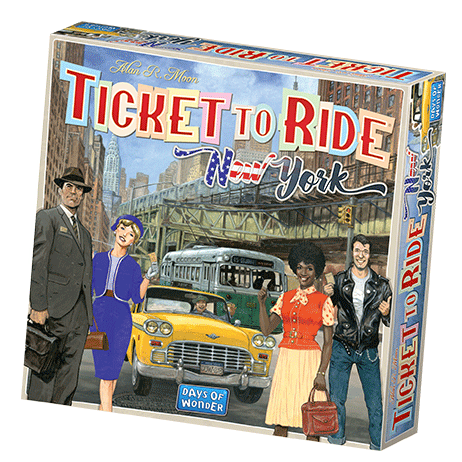 Ticket to Ride: New York Board Game - Macronova Games