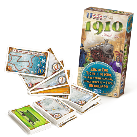 Ticket to Ride: USA 1910 Expansion - Macronova Games