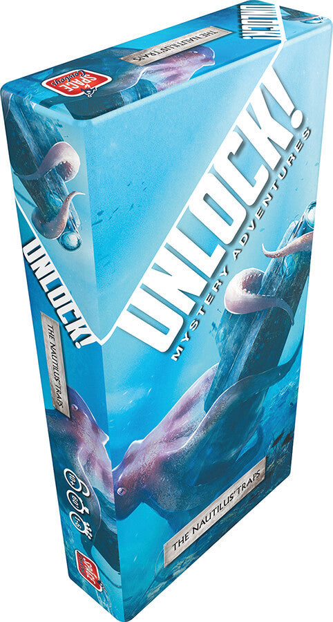 Unlock! The Nautilus' Traps Board Game - Macronova Games