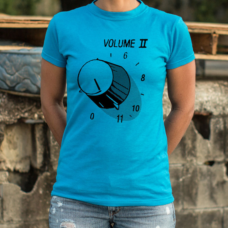 Volume 11 T-Shirt (Ladies) Ladies T-Shirt - Macronova Games