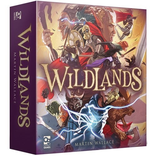 Wildlands Board Game - Macronova Games