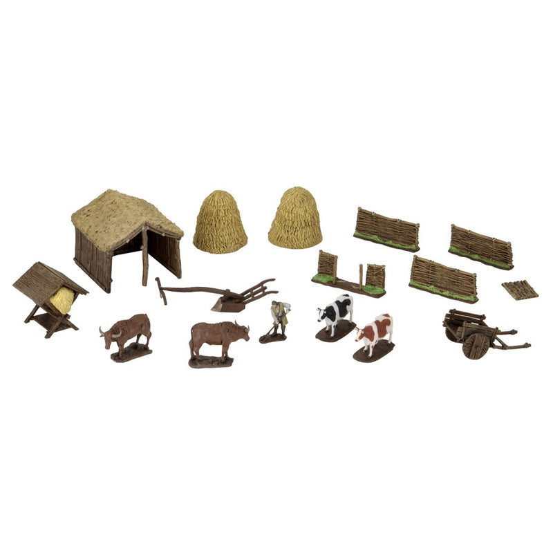 WizKids 4D Settings: Medieval Farmer Accessory - Macronova Games