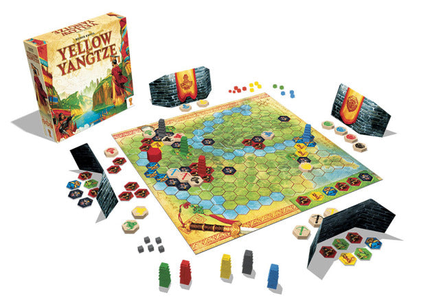 Yellow & Yangtze Board Game - Macronova Games