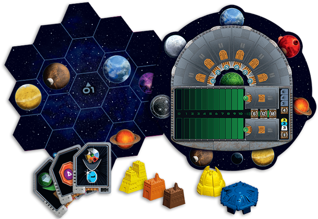 Gaia Project Board Game - Macronova Games