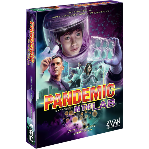 Pandemic: In the Lab Board Game - Macronova Games